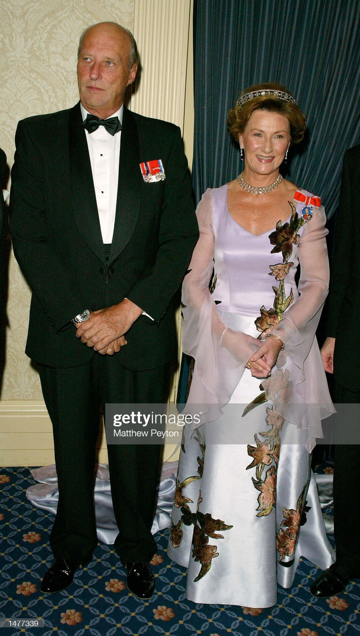 King and Queen of Norway at New York Gala : News Photo