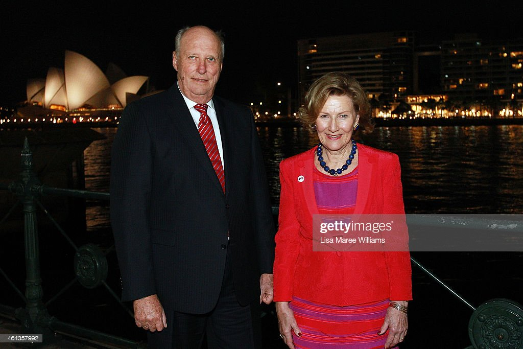 King Harald V And Queen Sonja Of Norway Visit Australia - Day 4 : News Photo