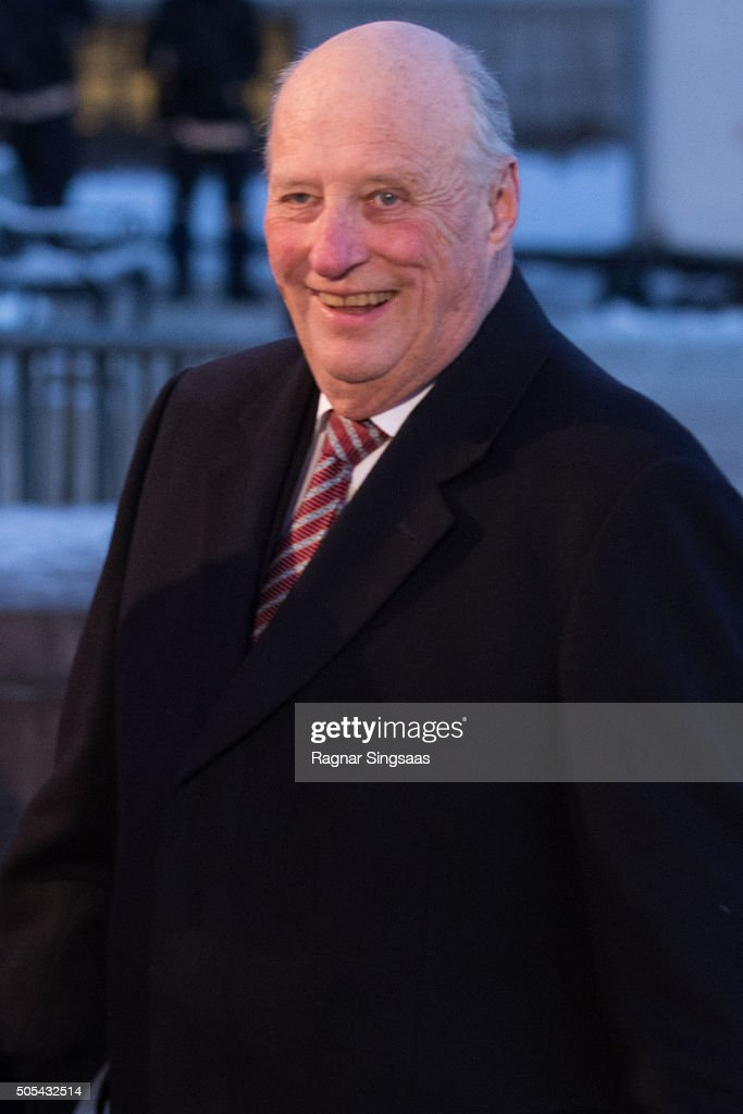 King Harald V of Norway attends his 25th anniversary as monarch on January 17, 2016 in Oslo, Norway.