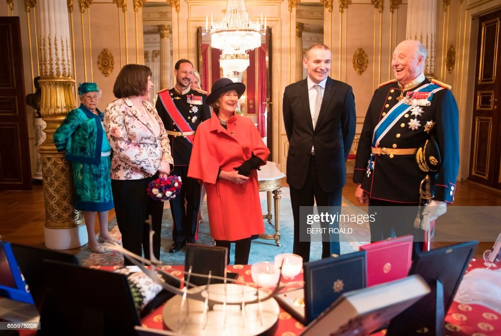 NORWAY-ICELAND-DIPLOMACY-ROYALS : News Photo