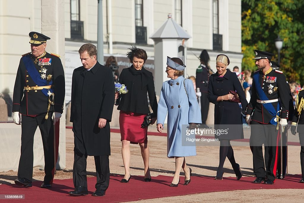 Finnish State Visit To Norway - Day 1 : News Photo
