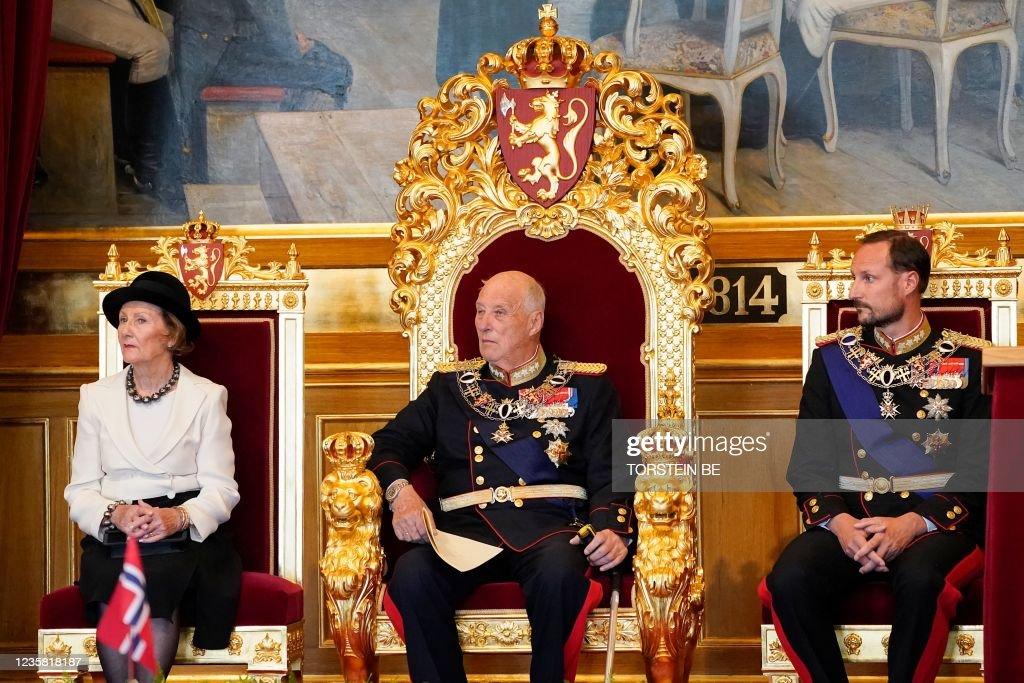 NORWAY-POLITICS-ROYALS-PARLIAMENT : News Photo