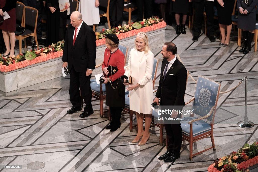 Nobel Peace Prize Award Ceremony 2019 : News Photo