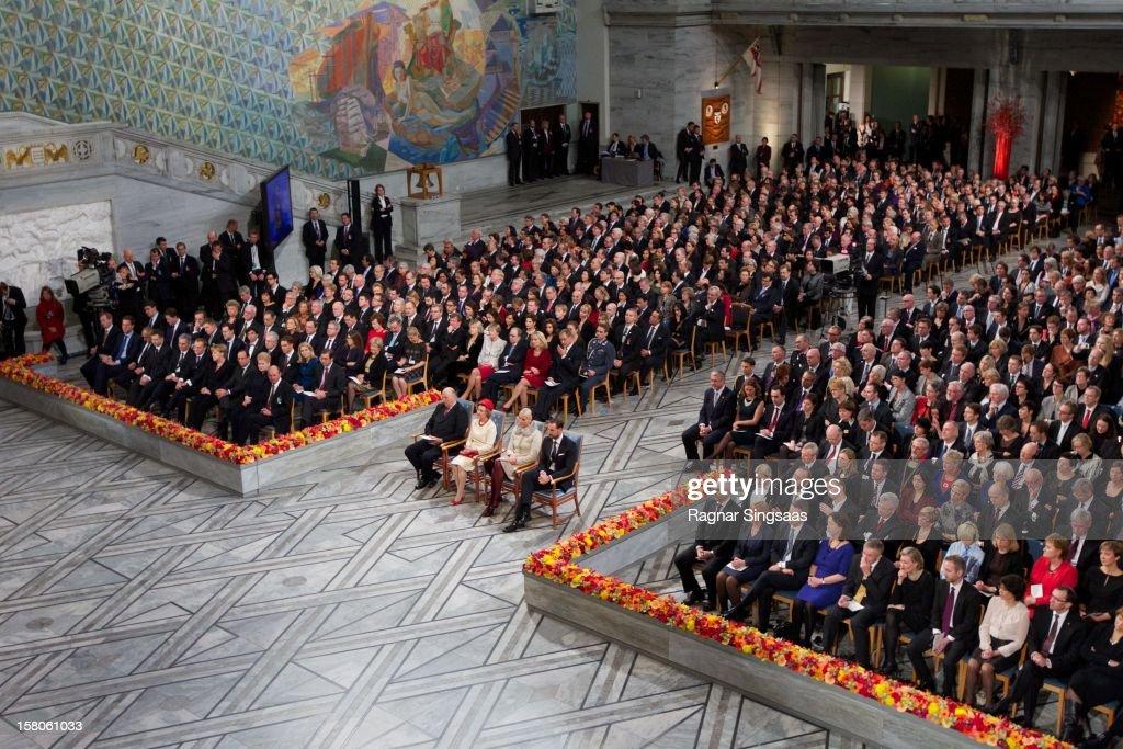 Nobel Peace Prize Ceremony - Oslo : News Photo