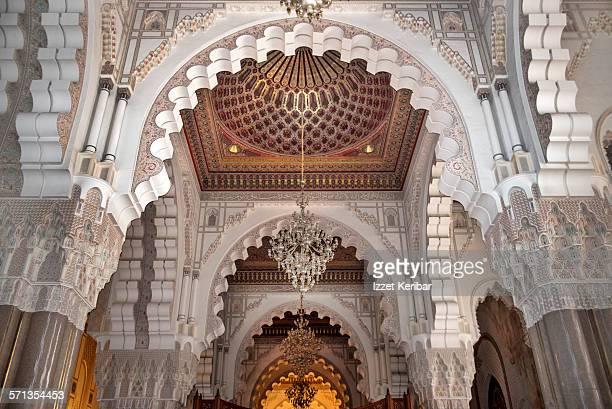 king hassan ii mosque in casablanca,morocco - casablanca morocco stock pictures, royalty-free photos & images