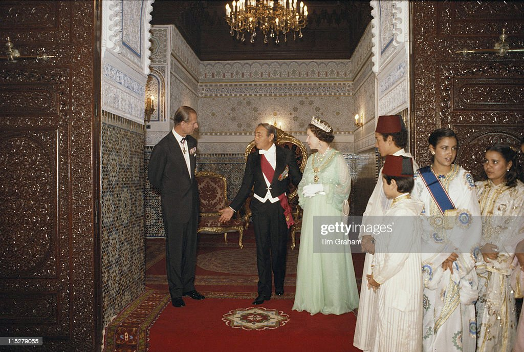 Royals In Morocco : News Photo