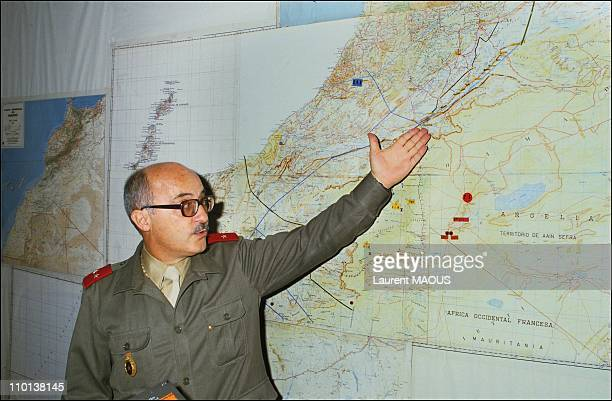 King Hassan II of Morocco in Sahara on March 11th,1985.