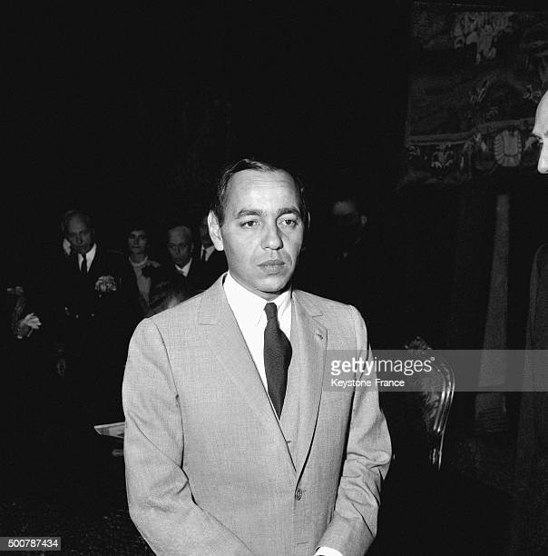 King Hassan II of Morocco on June 8, 1965 in Morocco.