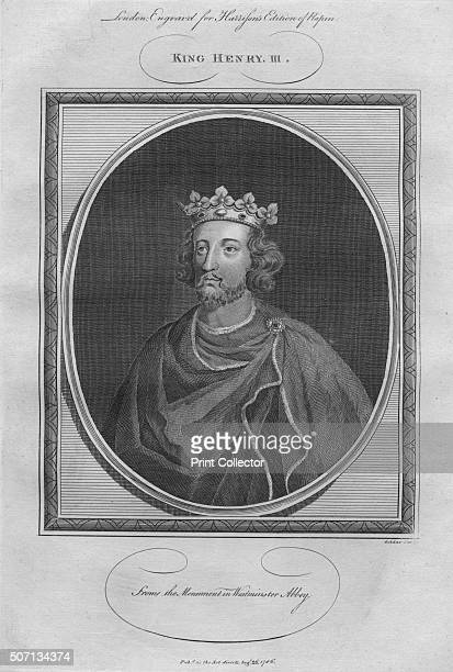 King Henry III 1786 From Harrison's Edition of Rapin's History of England by Paul Rapin de Thoyras [John Harrison London 1786] Artist Anon
