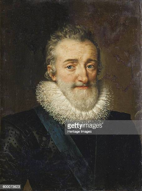 King Henry IV of France, 1610. Private Collection. Artist : Pourbus, Frans, the Younger .