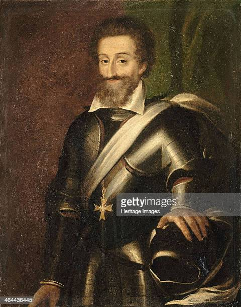 King Henry IV of France, Early 17th cen.. Found in the collection of the Musée national du château de Pau.