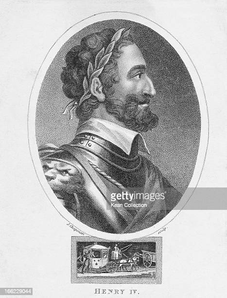 King Henry IV of France . Engraved by J. Chapman.