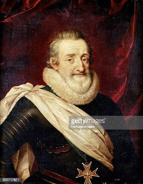King Henry IV of France. Found in the collection of Musée de l'Histoire de France, Château de Versailles.