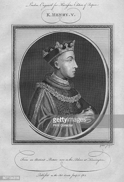 King Henry V 1785 From Harrison's Edition of Rapin's History of England by Paul Rapin de Thoyras [John Harrison London 1785] Artist Anon