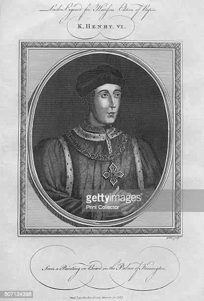 King Henry VI 1787 From Harrison's Edition of Rapin's History of England by Paul Rapin de Thoyras [John Harrison London 1787] Artist Anon