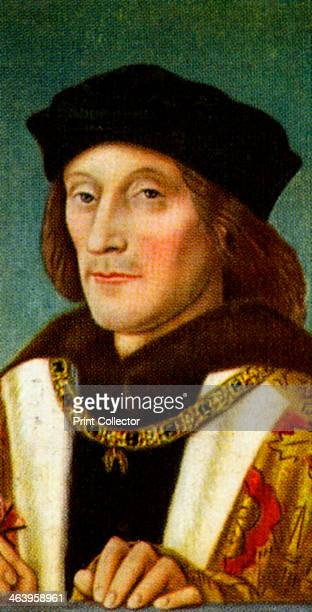 King Henry VII Henry King of England Lord of Ireland was the founder and first patriarch of the Tudor dynasty