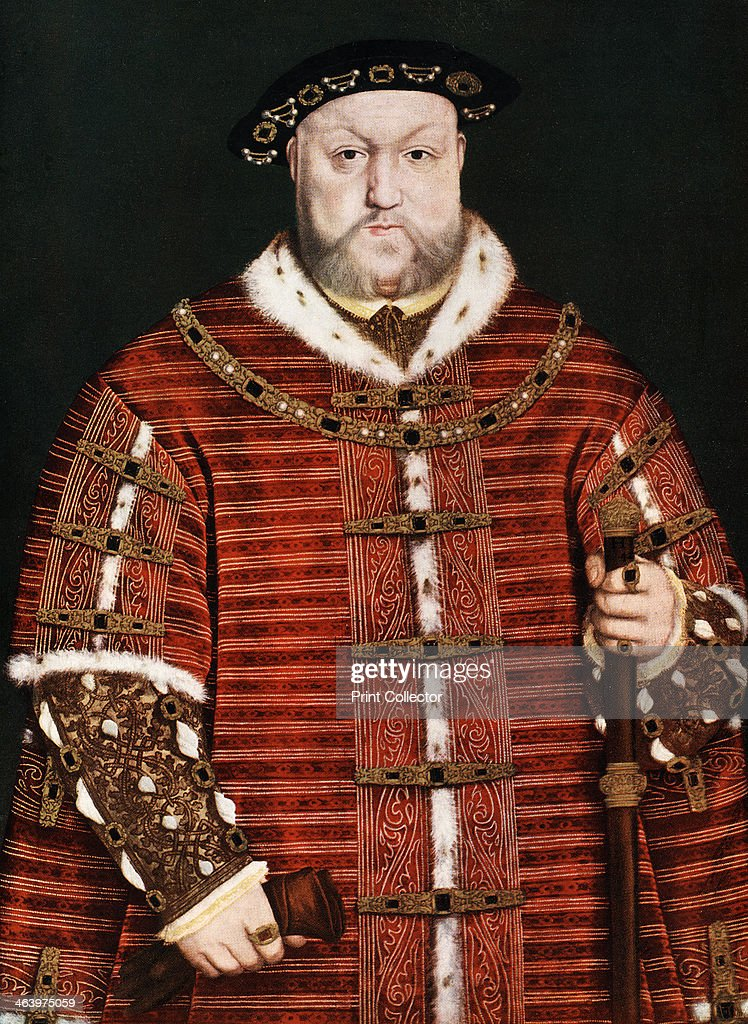 'King Henry VIII', 1542-1550. Artist: Hans Holbein the Younger : News Photo