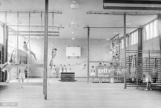 King Henry VIII School Coventry now has a proper gymnasium for the first time since 1941 when the old gym was bombed Boys at the school for the last...