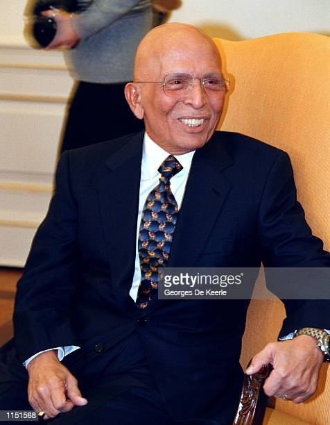 King Hussein of Jordan at the White House January 5 1999 on his way home following six months of cancer treatment at the Mayo Clinic Iraq was one of...