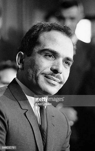King Hussein of Jordan in England, 1st July 1967.