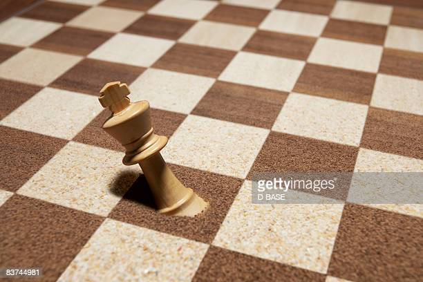 king is buried in the chessboard.