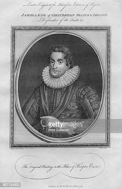 King James I 1787 From Harrison's Edition of Rapin's History of England by Paul Rapin de Thoyras [John Harrison London 1787] Artist Anon