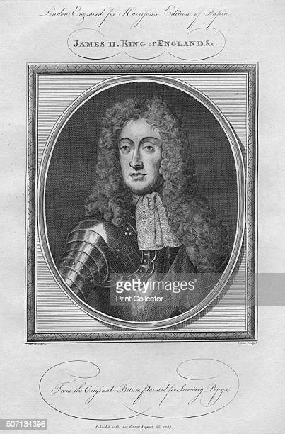 King James II 1787 From Harrison's Edition of Rapin's History of England by Paul Rapin de Thoyras [John Harrison London 1787] Artist Anon