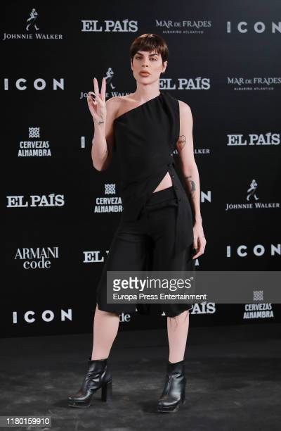 King Jedet attends 'ICON' magazine awards at Real Fabrica de Tapices on October 09 2019 in Madrid Spain
