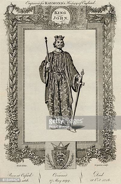 King John' c1787 aAso known as John Lackland was King of England from 6 April 1199 until his death in 1216 The baronial revolt at the end of John's...