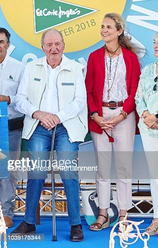 King Juan Carlos Attend King Juan Carlos Sailing Competition In Pontevedra
