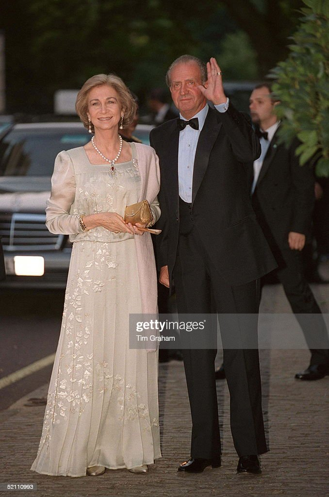 King Juan Carlos And Queen Sofia Of Spain : News Photo