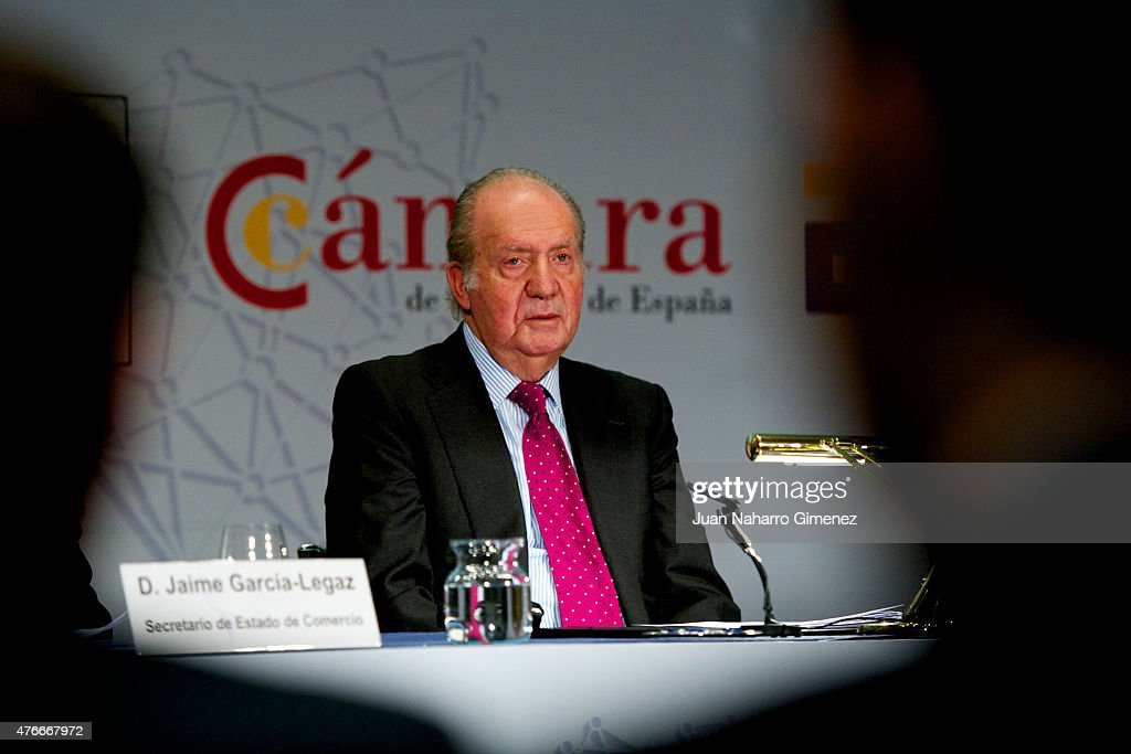King Juan Carlos Attends the Closure of 3rd Internationalization Summit : News Photo