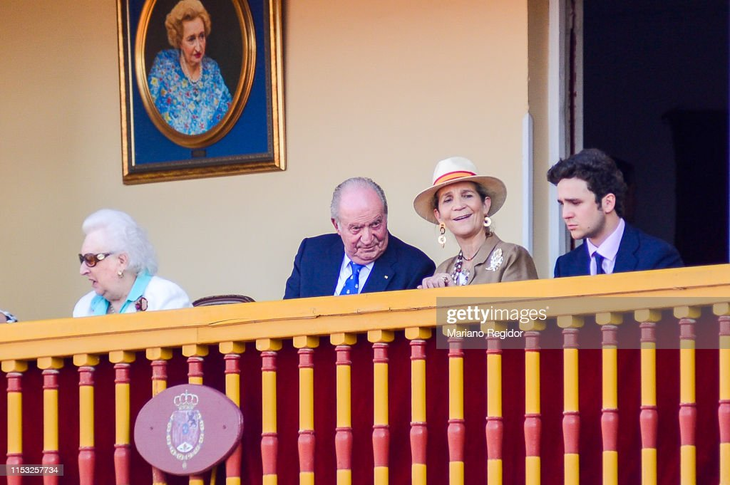King Juan Carlos Last Institutional Public Appearance : News Photo