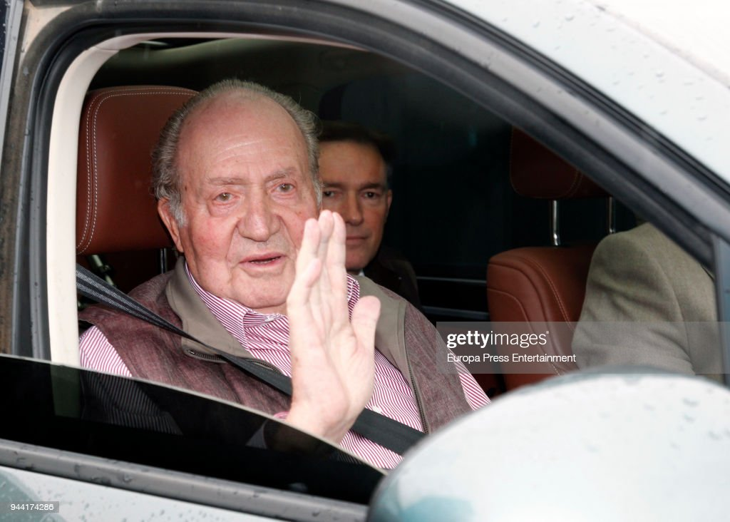 King Juan Carlos Leaves the Hospital