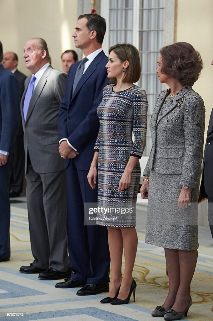Spanish Royals Deliver National Sports Awards 2014 : News Photo