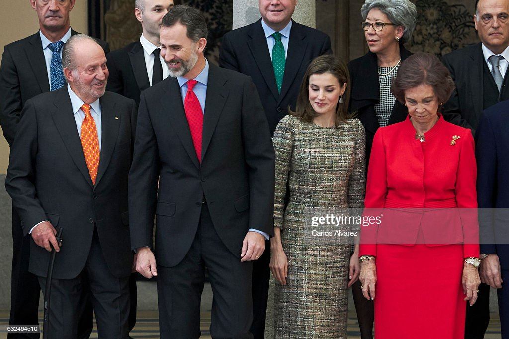 Spanish Royals Deliver National Sports Awards 2015 : News Photo