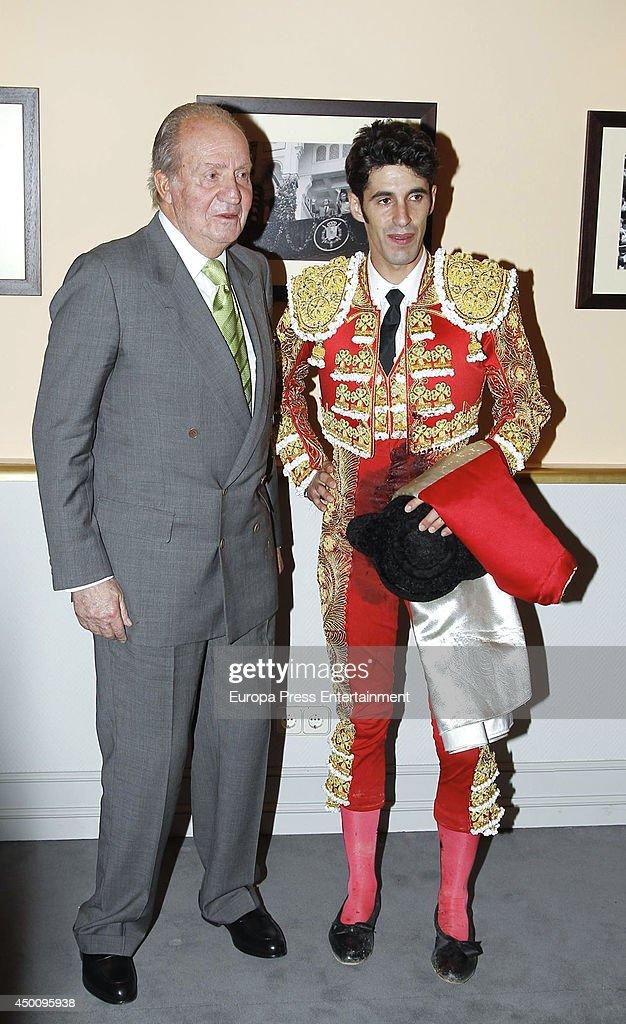 King Juan Carlos of Spain Attends San Isidro Bullfighting Fair In Madrid