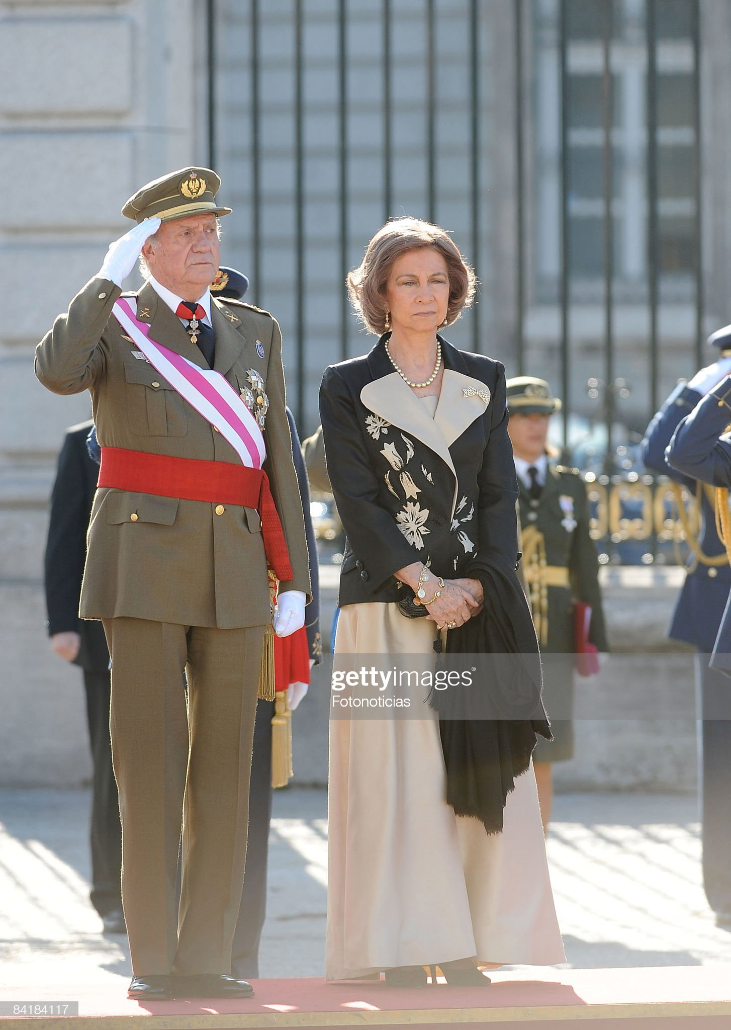 Spanish Royals Attend New Year Military Pasques Reception : News Photo