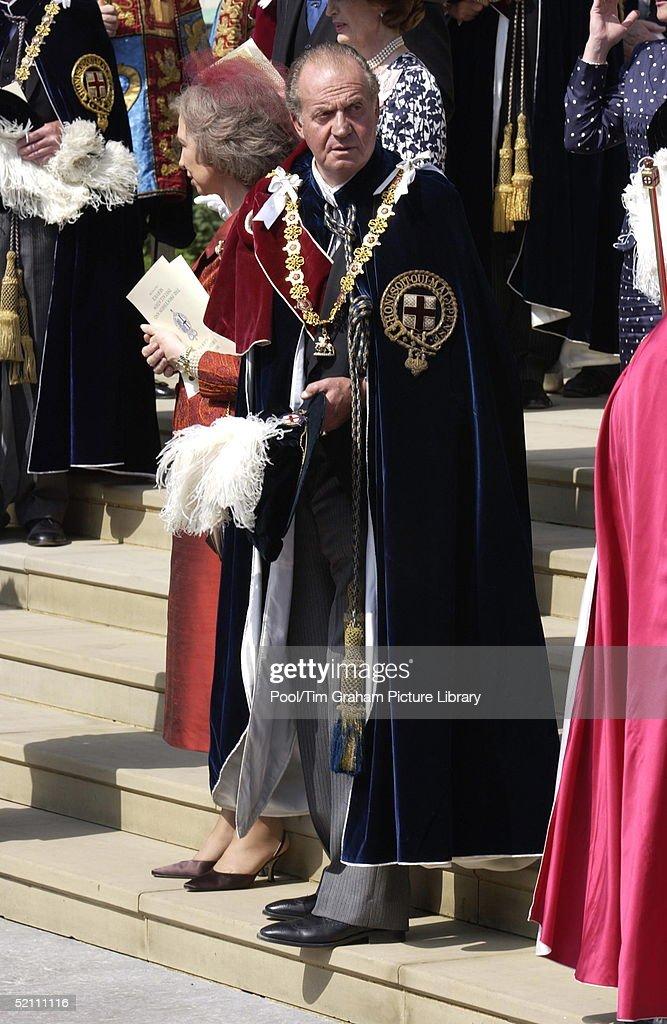King Juan Carlos Of Spain : News Photo