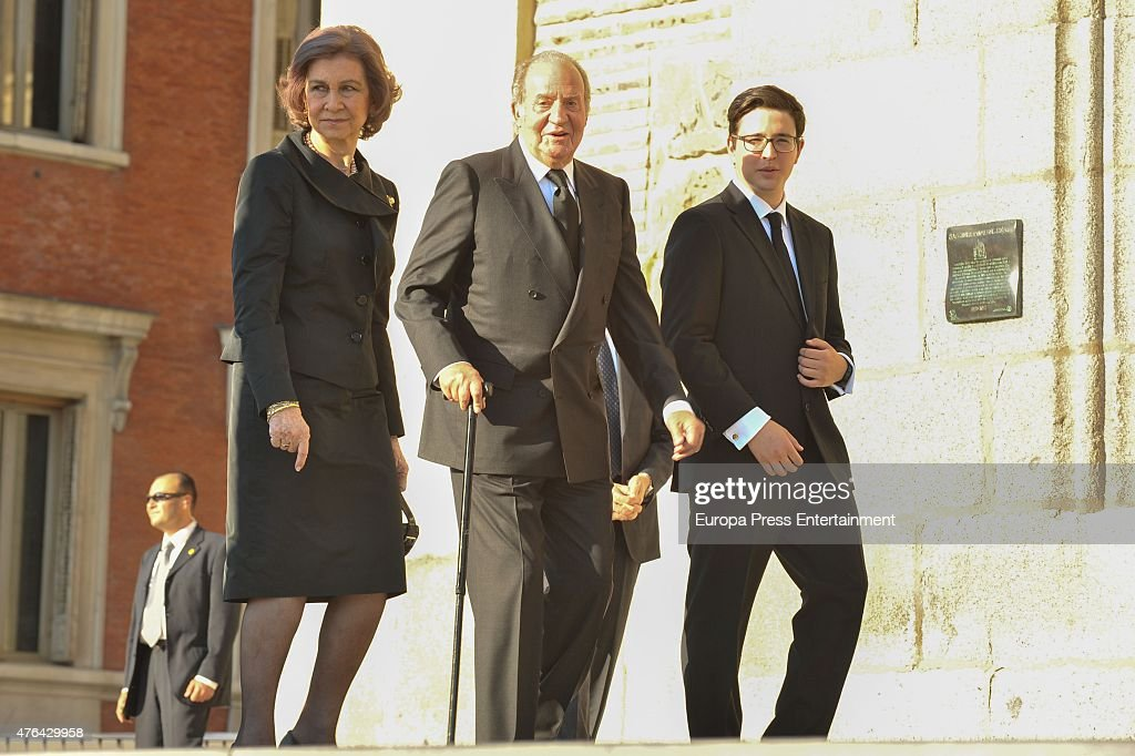 Memorial Service For Prince Kardam of Bulgaria In Madrid : News Photo