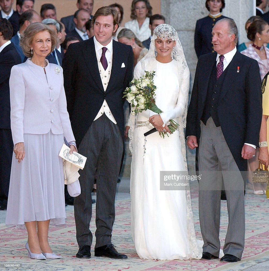 the wedding of beltran gomezacedo y de borbon amp laura