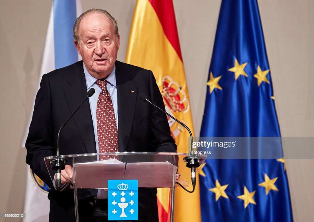 King Juan Carlos Receives The Credential As Ambassador Of Honor Of The Pilgrim's Road to Santiago