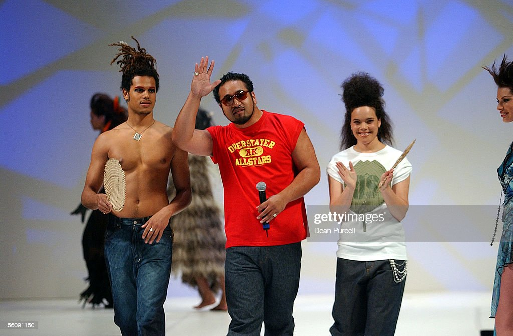 Winter 2004 collection in the Style Pasifika show : News Photo