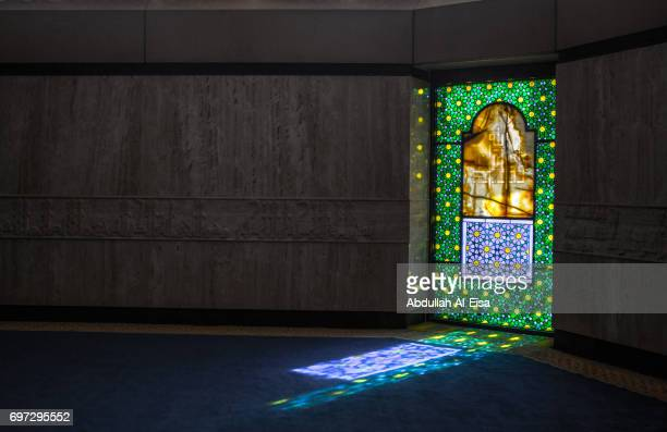 king khaled international airport grand mosque - riyadh stock pictures, royalty-free photos & images