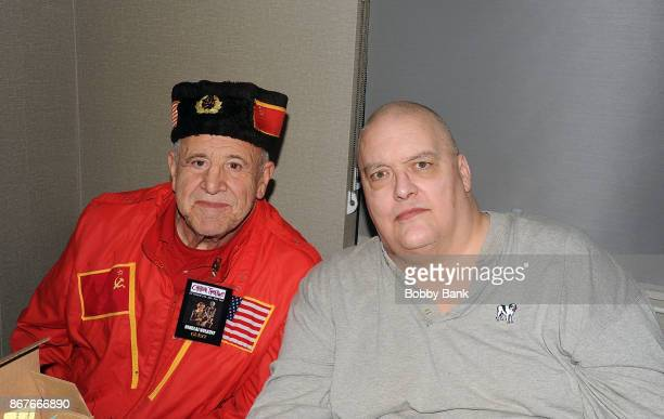 King Kong Bundy and Nikolai Volkoff attend Chiller Theater Expo Winter 2017 at Parsippany Hilton on October 28, 2017 in Parsippany, New Jersey.