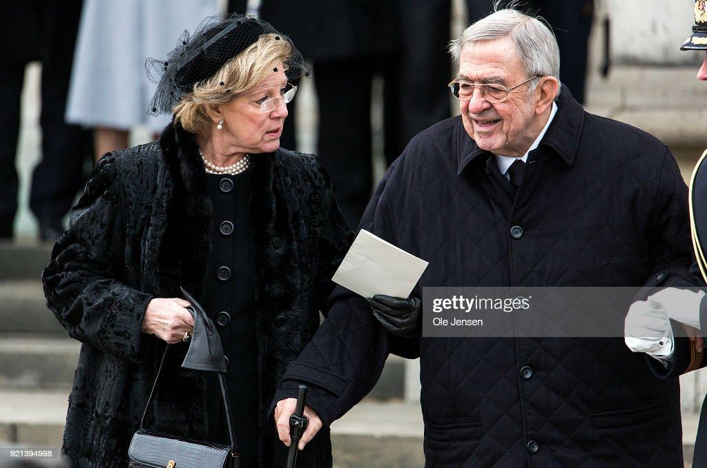 Funeral Of Danish Prince Henrik In Copenhagen : News Photo