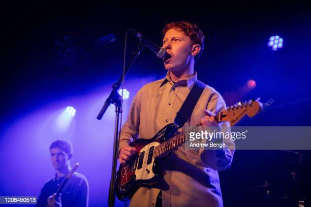 King Krule performs at Beckett Student Union on February 24, 2020 in Leeds, England.