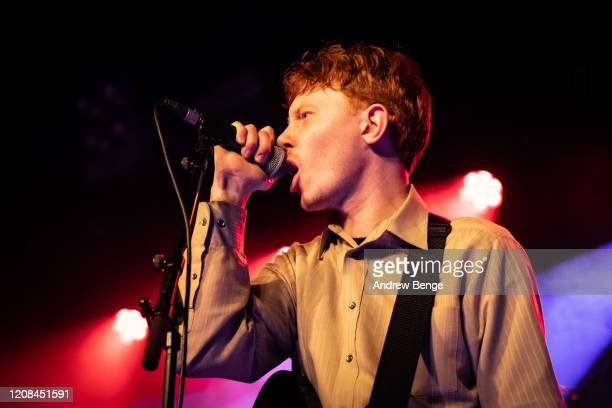 King Krule performs at Beckett Student Union on February 24 2020 in Leeds England