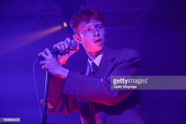 King Krule performs on stage at Oval Space on October 8, 2013 in London, England.