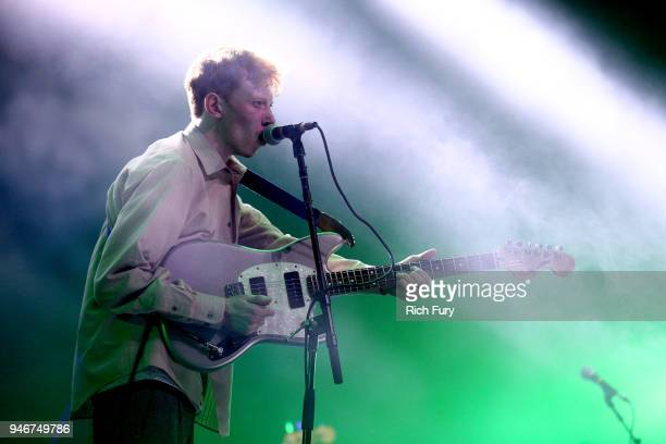 King Krule performs onstage during the 2018 Coachella Valley Music and Arts Festival Weekend 1 at the Empire Polo Field on April 15, 2018 in Indio,...